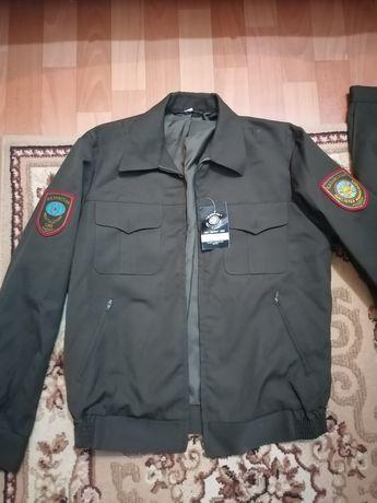 Продам куртку и брюки шерстяные темно-защитного цвета МЧС