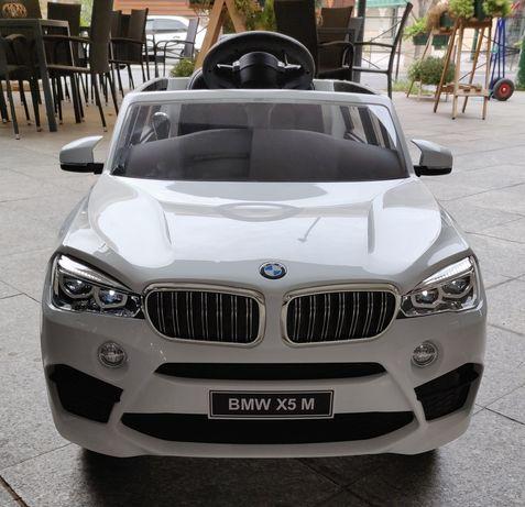 Masinuta Electrica BMW X5M Model 2020, cu Roti Spuma, Ventilatie, Geam