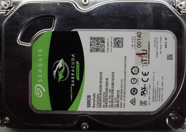 "Hard Disk-HDD Sata 3,5"" HDD-500 Gb Seagate ST500DM009 Refurbished"