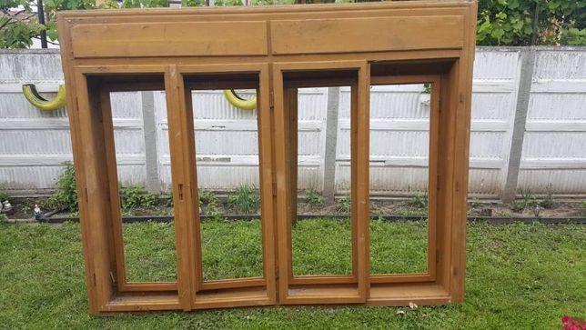 Vand 2 geamuri noi din lemn de brad
