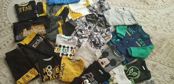 Детски комплекти , панталончета блузки ризки суитчъри якета