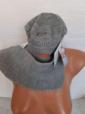 Комплект шапка и шалче