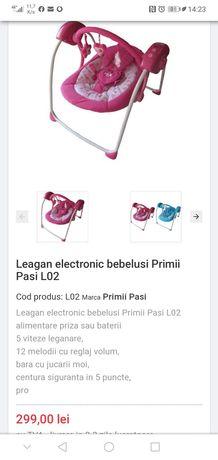 Leagan electronic Primii Pasi roz