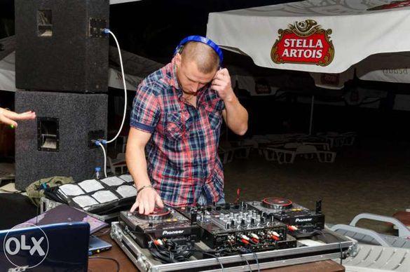 DJ със собствена апаратура