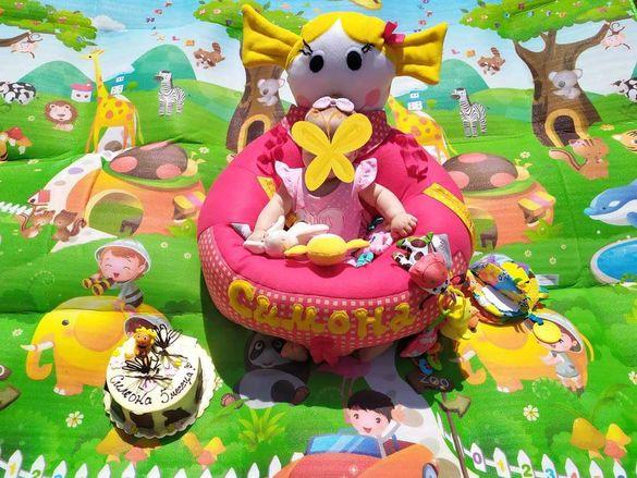 Барбарон, активна седалка за игра за бебе