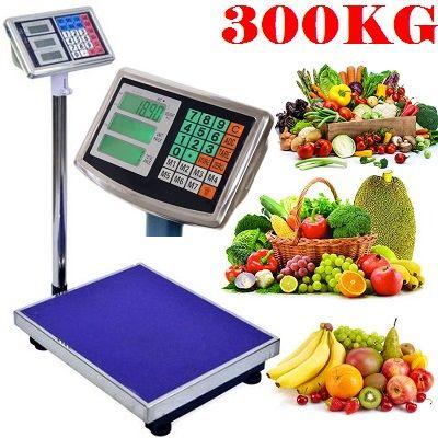 Cantar 1 - 300kg cu afisaj si acumulator NOU legume