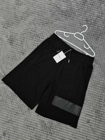 Givenchy logo patch Premium, bermude, pantaloni scurti shorts tricou