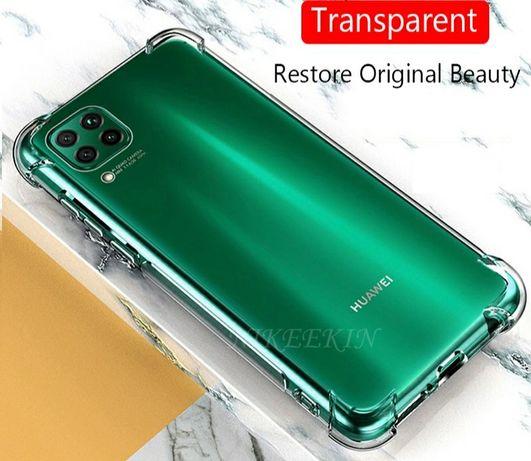 Прозрачен Силиконов Удароустойчив Кейс за Huawei P40 Lite Pro Nova 5T