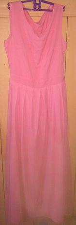 Платье розовое за шоколадку