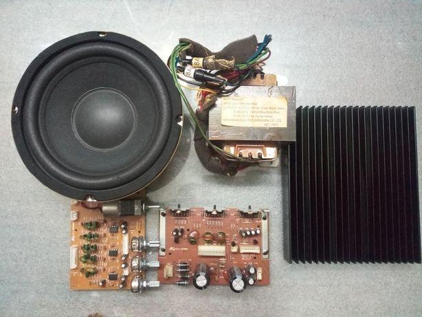 Piese amplificator statie sistem audio genius 5.1 5000 subwoofer 100W