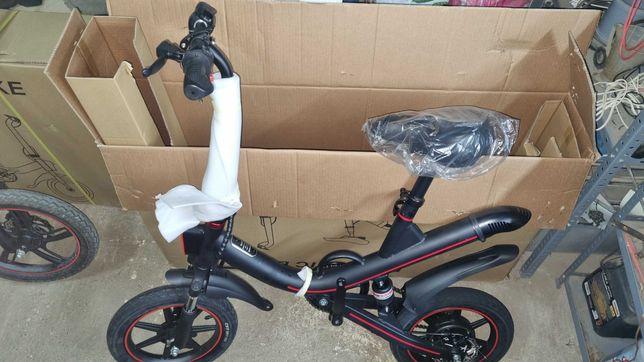 OCAZIE- Bicicleta electrica pliabila, roti 14 inch,