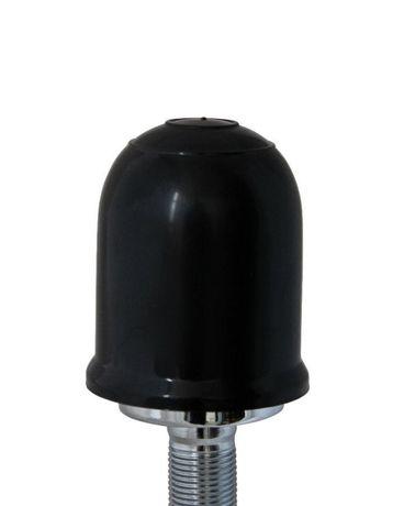 Защитна капачка за ябълка теглич Amio 55 мм Черна пластмасова