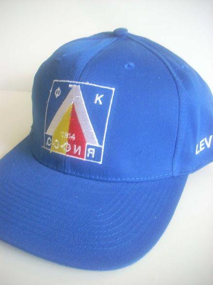 Левски / Levski - НОВА фен шапка с козирка