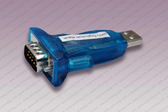 ANIMABG Преходник USB към RS232 Serial Port
