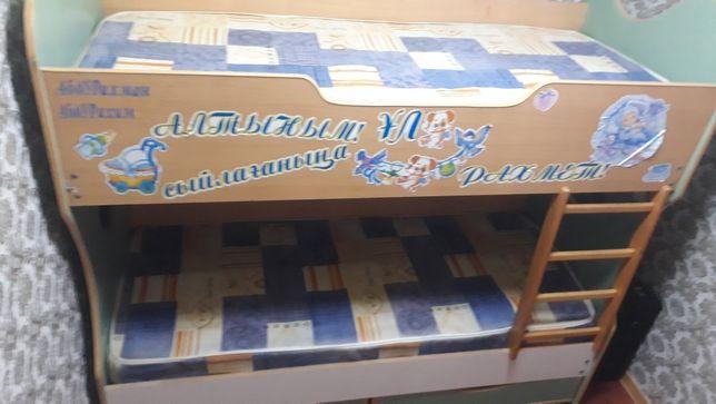 Кровать 2х ярис Сатылады