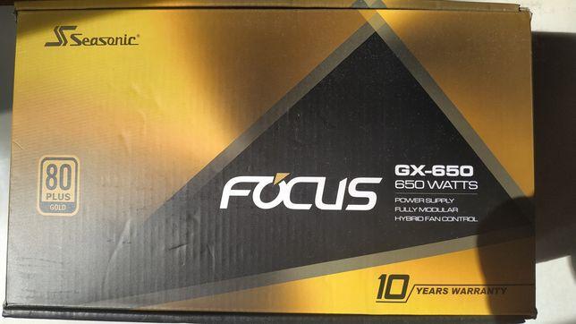 Блок питания Seasonic Focus GX-650 650W, ATX, новый