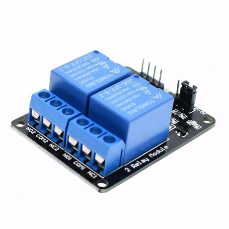 Releu arduino 5V - 2 relee pe placa