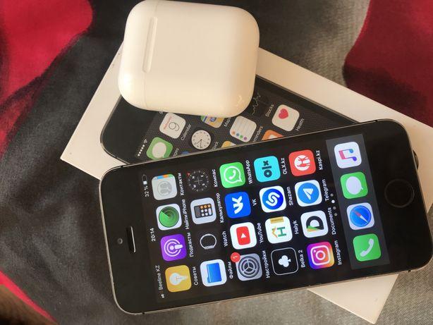 iphone 5s и airpods 2 работают идельно