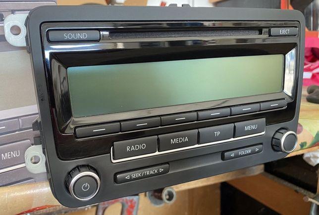 Volkswagen Radio Rcd310 Low Eu G+ Golf Touran Passat + Cod
