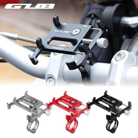 Suport telefon GUB Plus 6 bicicleta trotineta xiaomi moto aluminiu 360