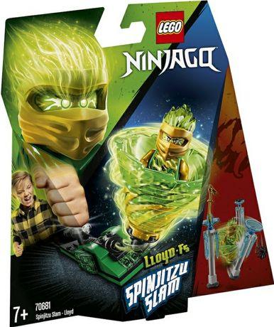 Sigilat LEGO NINJAGO Spinjitsu Slam Lloyd  70681