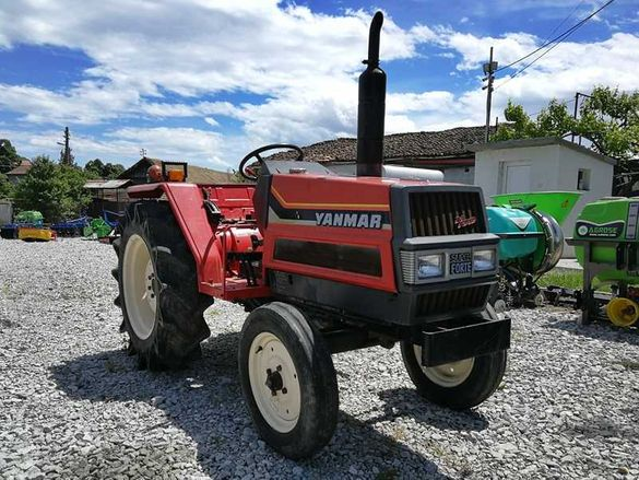 Японски трактор YANMAR FX24 24к.с. 2WD - ДЖЕЙ ТРЕЙДИНГ