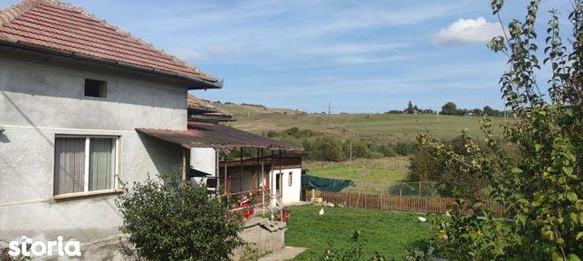 Casa cu teren generos 4700mp, priveliste- Valcele, comuna Feleacu