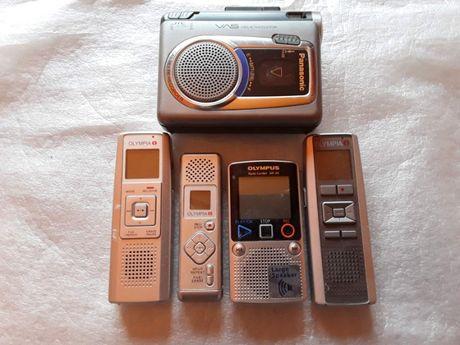 5 броя оригинални журналистически магнетофони-за части