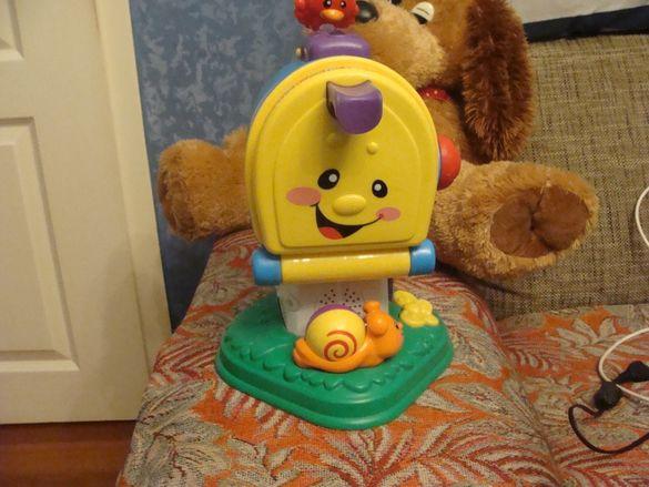 fisher price post box 100% оригинална играчка