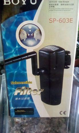 Pompa acvariu . Filtru submersibil . Boyu SP603E.