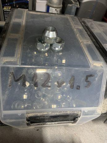 Гайки за джанти м12 1.5 конус