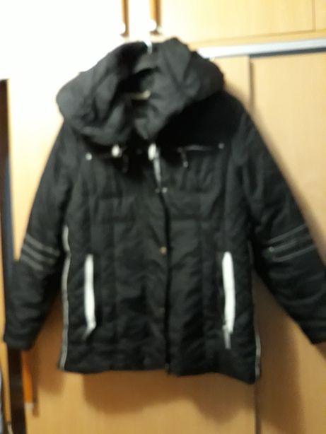 Geaca eleganta iarna Bonprix neagra 40-42