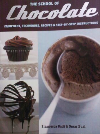 Retete cu ciocolata, carte de bucate in limba engleza