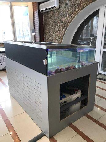 Аквариум для устриц и морепродуктов