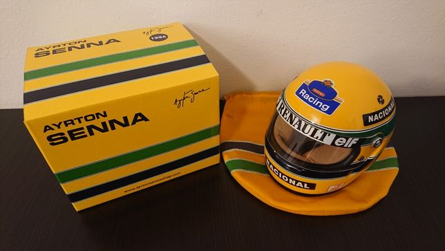 Casca Ayrton Senna - Williams 1994 - scara 1:2 - Minichamps