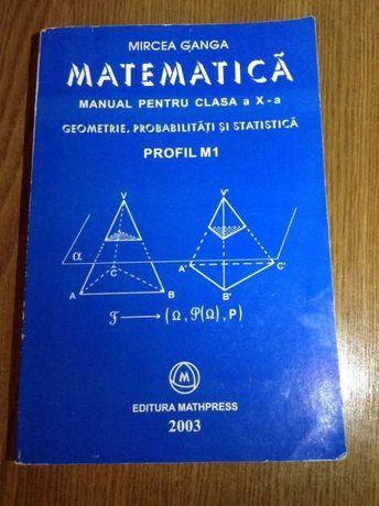 Matematica M1- manual cls a X-a geometrie probabilități si statistica