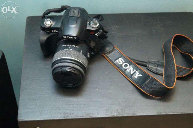camera foto sony alfa 230
