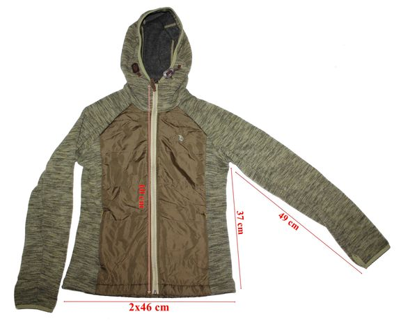 Geaca hybrid Tatonka Sirka Thinsulate Platinum Wool dama 36(S)