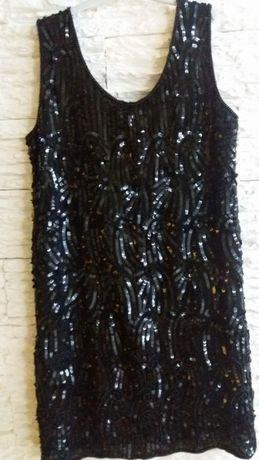 Rochie din paiete si margelute