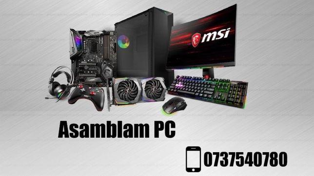 Asamblam PC / Instalam Windows / Instalam Software