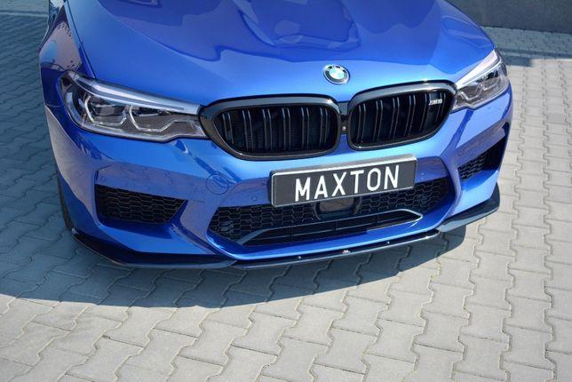 Prelungire bara fata BMW M5 F90 negru lucios