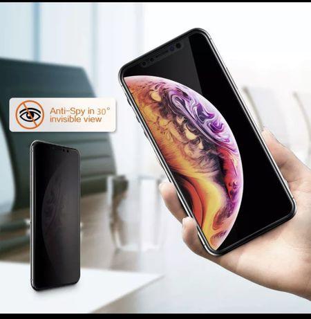 Folie Privacy Anti Spionaj iPhone 12 XR 11