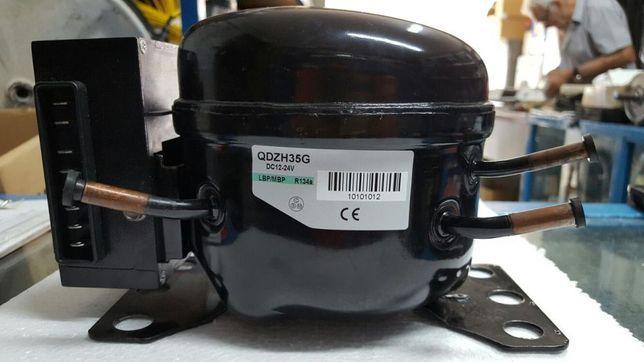 Motor compresor auto 12v 24v frigider tir rulota gen danfoss sigilat