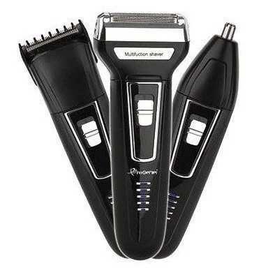 Электробритва-триммер/машинка для стрижки 3 в 1 Gemei GM 598