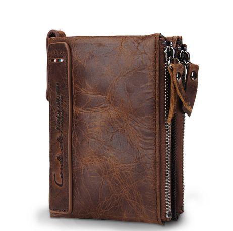 Мужские портмоне из кожи, новые, хороший и стильный подарок для мужчин