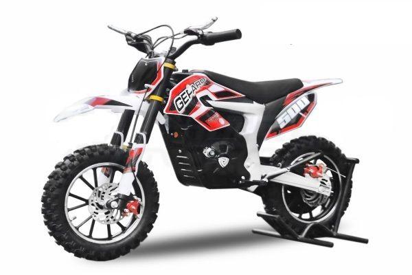 Motocicleta electrica pentru copii Eco Ghepard 500W 24V #Rosu