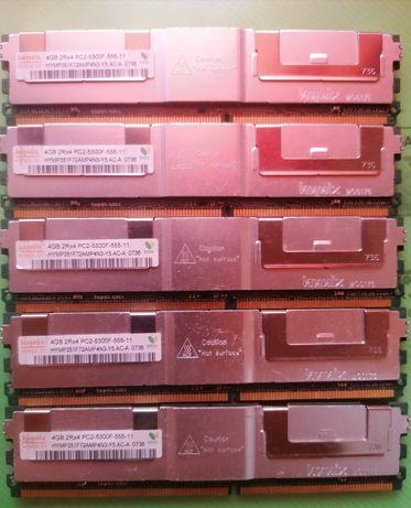 Memorii server 4gb 2rx4 pc2 5300f 555