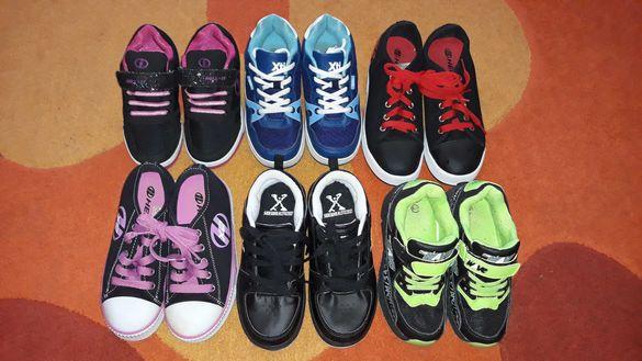 Маратонки и обувки с колелца HEELYS