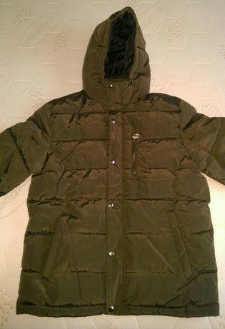 Geaca de iarna H&M, khaki (noua)
