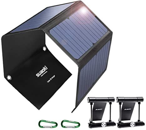 Incarcator solar usb pliabil 28w, incarcare rapida Quick Charge